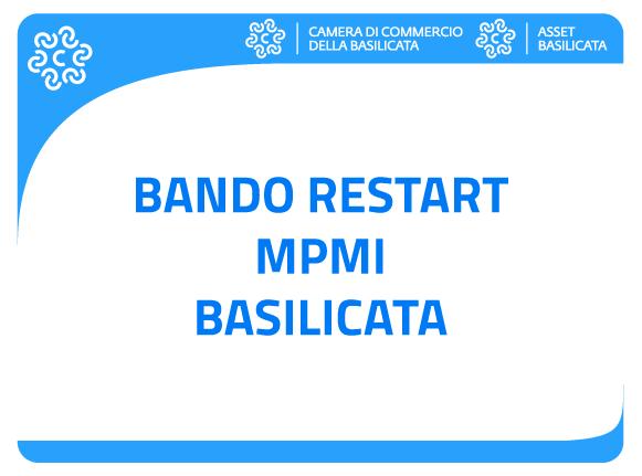 Bando Restart MPMI Basilicata